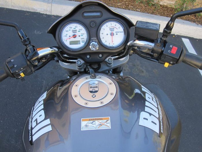 Buell M2 Cyclone Motorcycle Dashboard